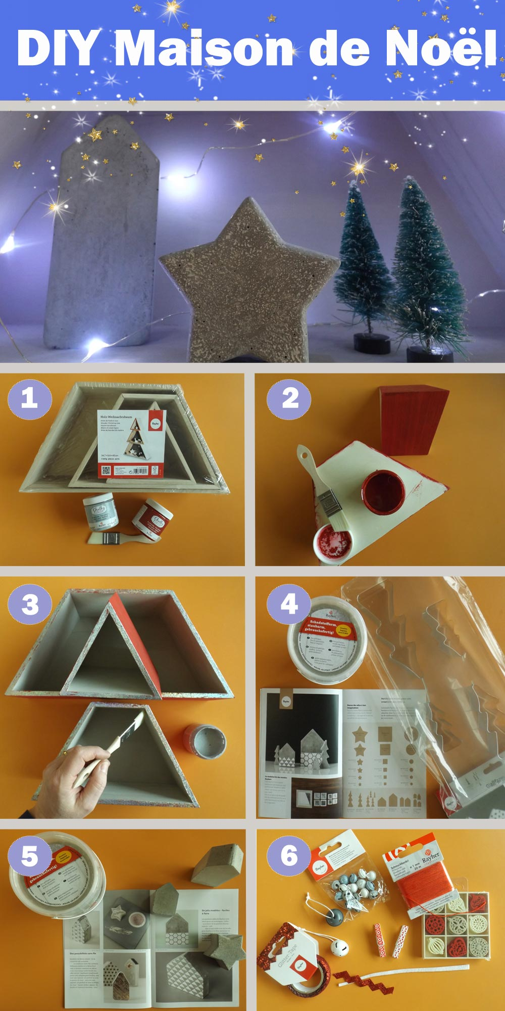 DIY Maison de Noël