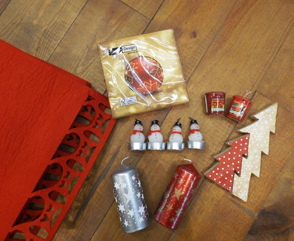 Wishlist table chaleureuse Noël