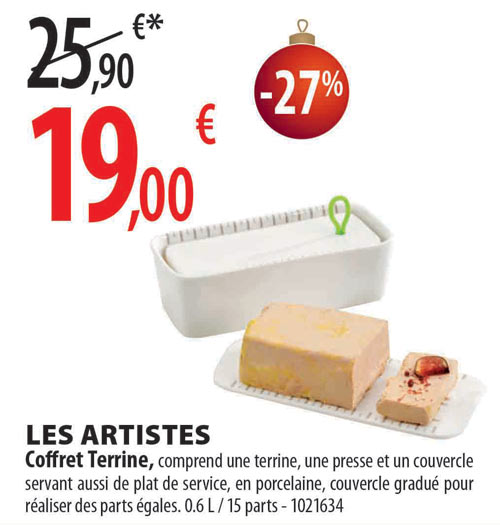Promotion coffret terrine