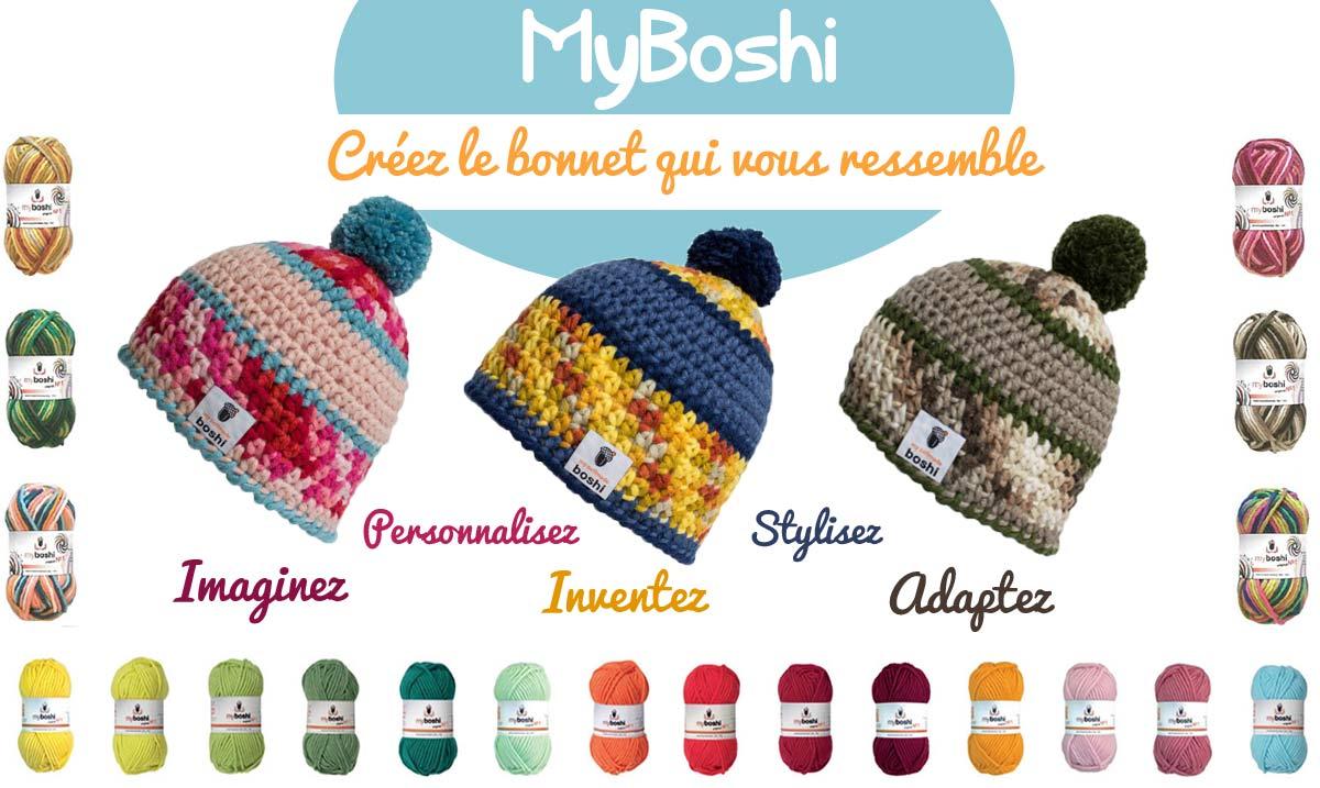 Myboshi, le bonnet qui vous ressemble !