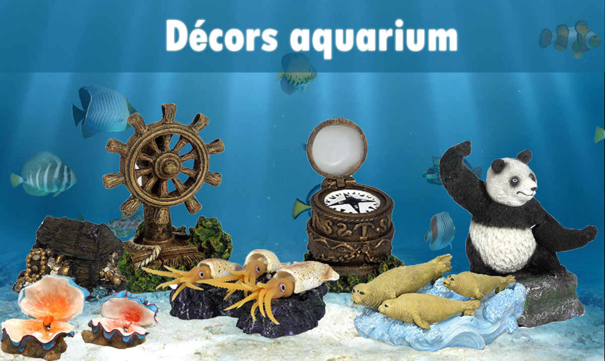 Décors aquarium interractifs