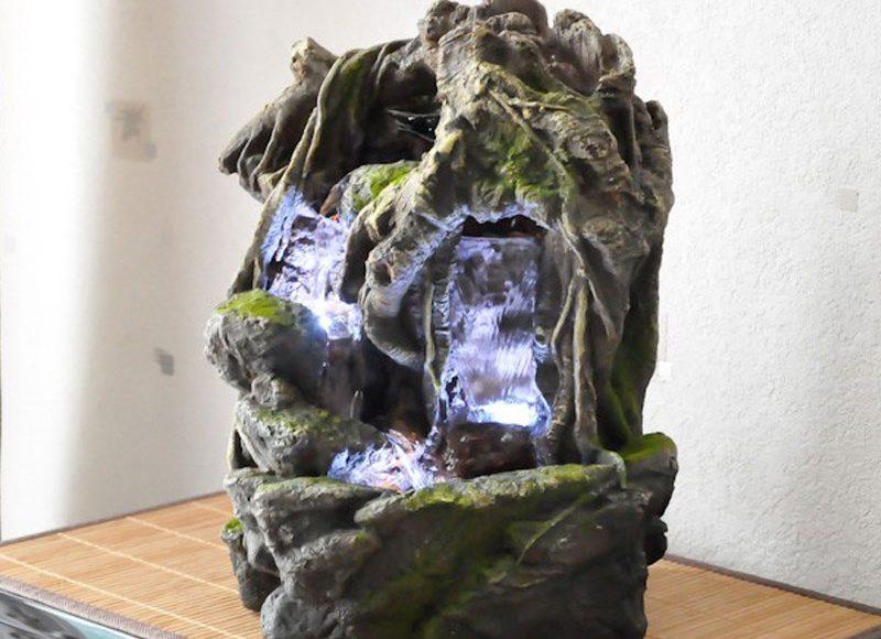 Une fontaine d'intérieur