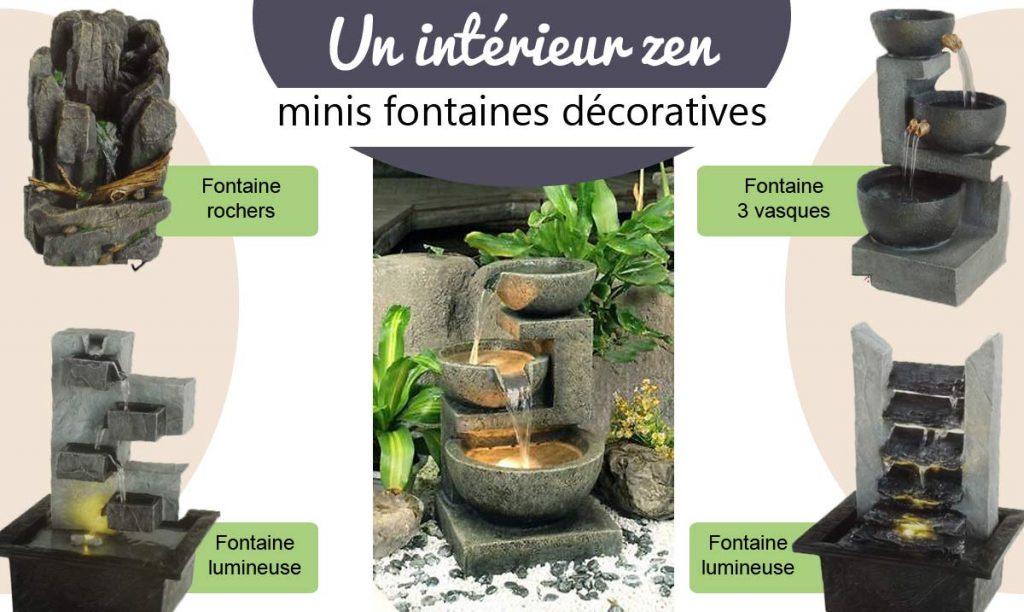 Fontaines décoratives