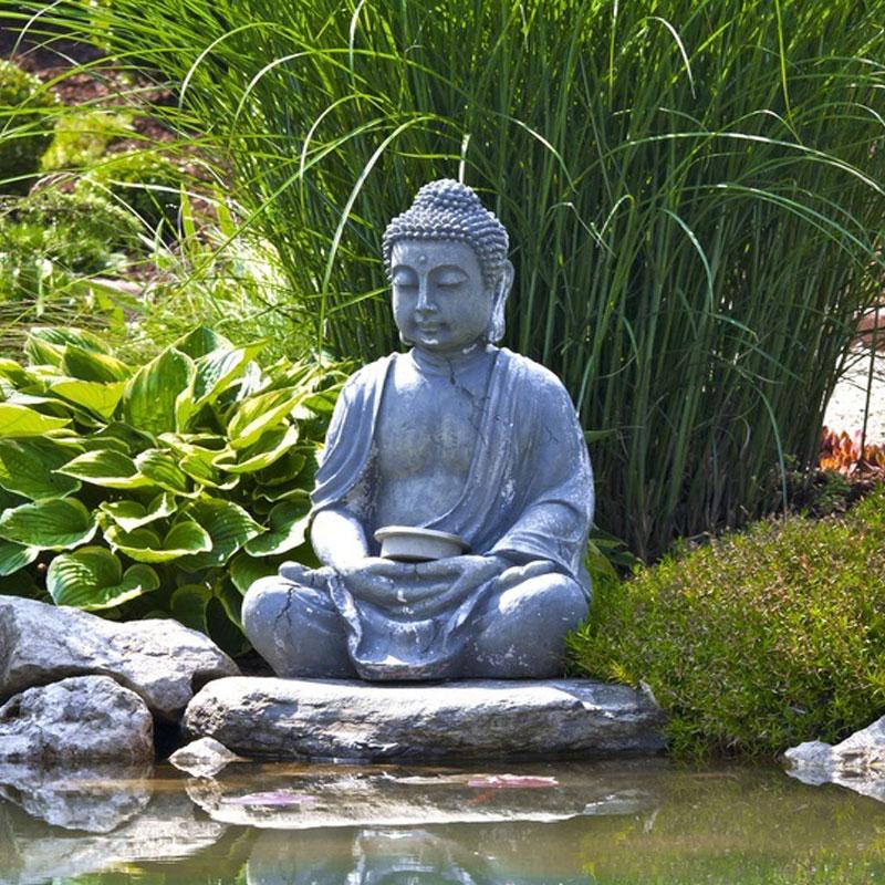 Cr ez une ambiance zen dans votre jardin au comptoir for Ambiance zen jardin