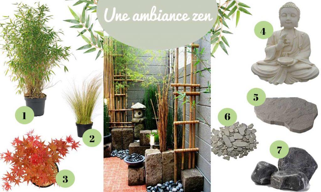 Un jardin zen !