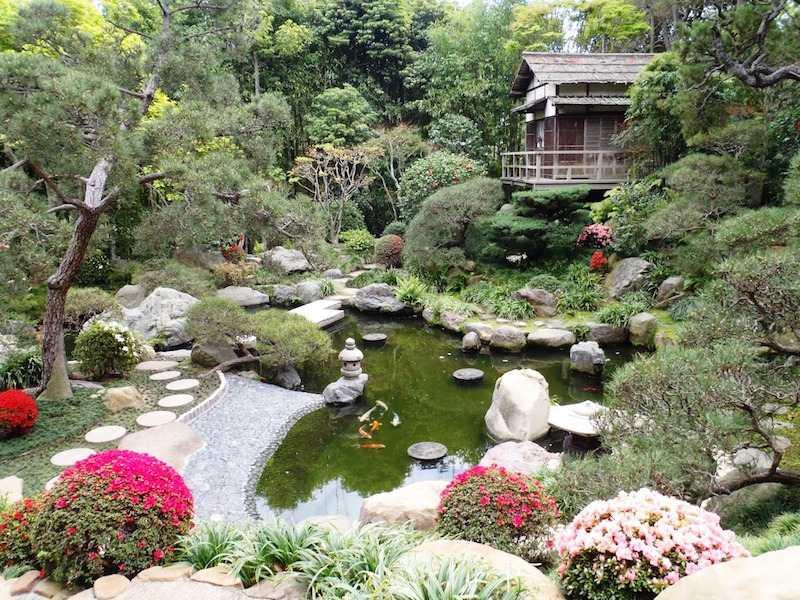 Jardin ambiance japonaise