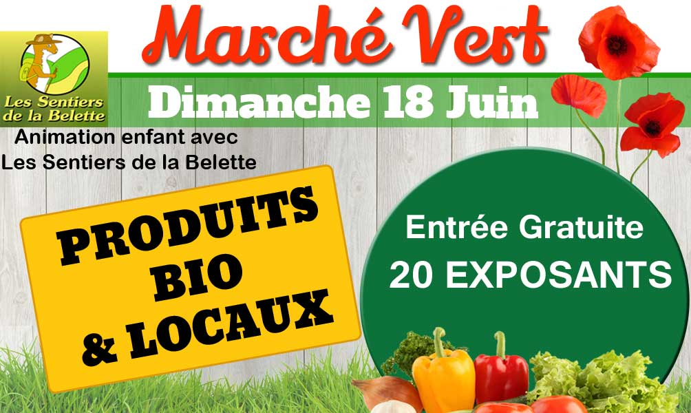 Marché produits bio et locaux