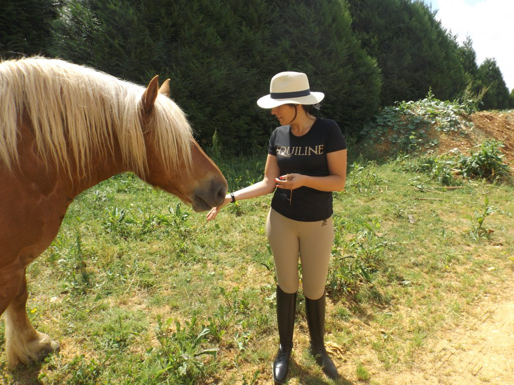 Tenue d'équitation