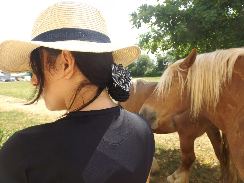 Tenue d'équitation femme