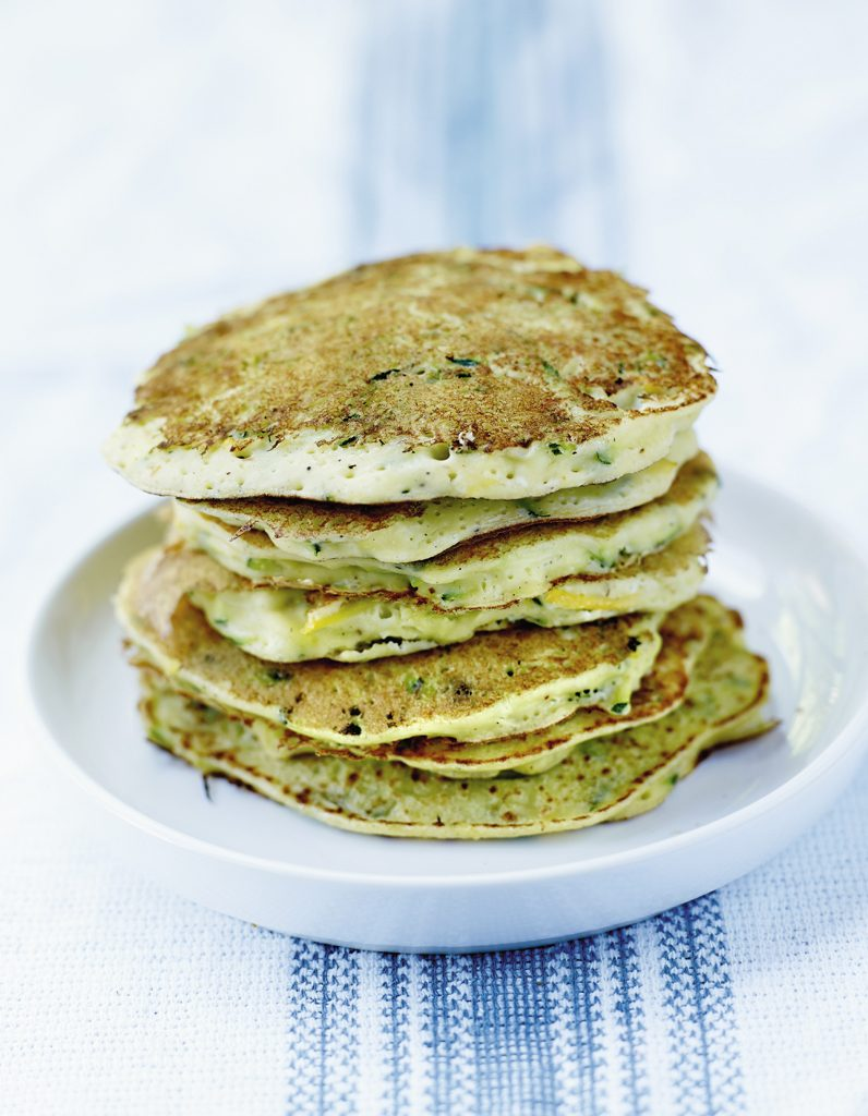 Pancakes courgette