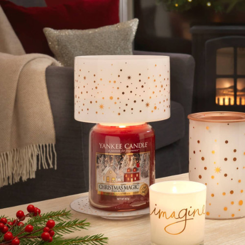 christhmas magic Yankee Candle