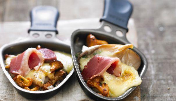 raclette champignon
