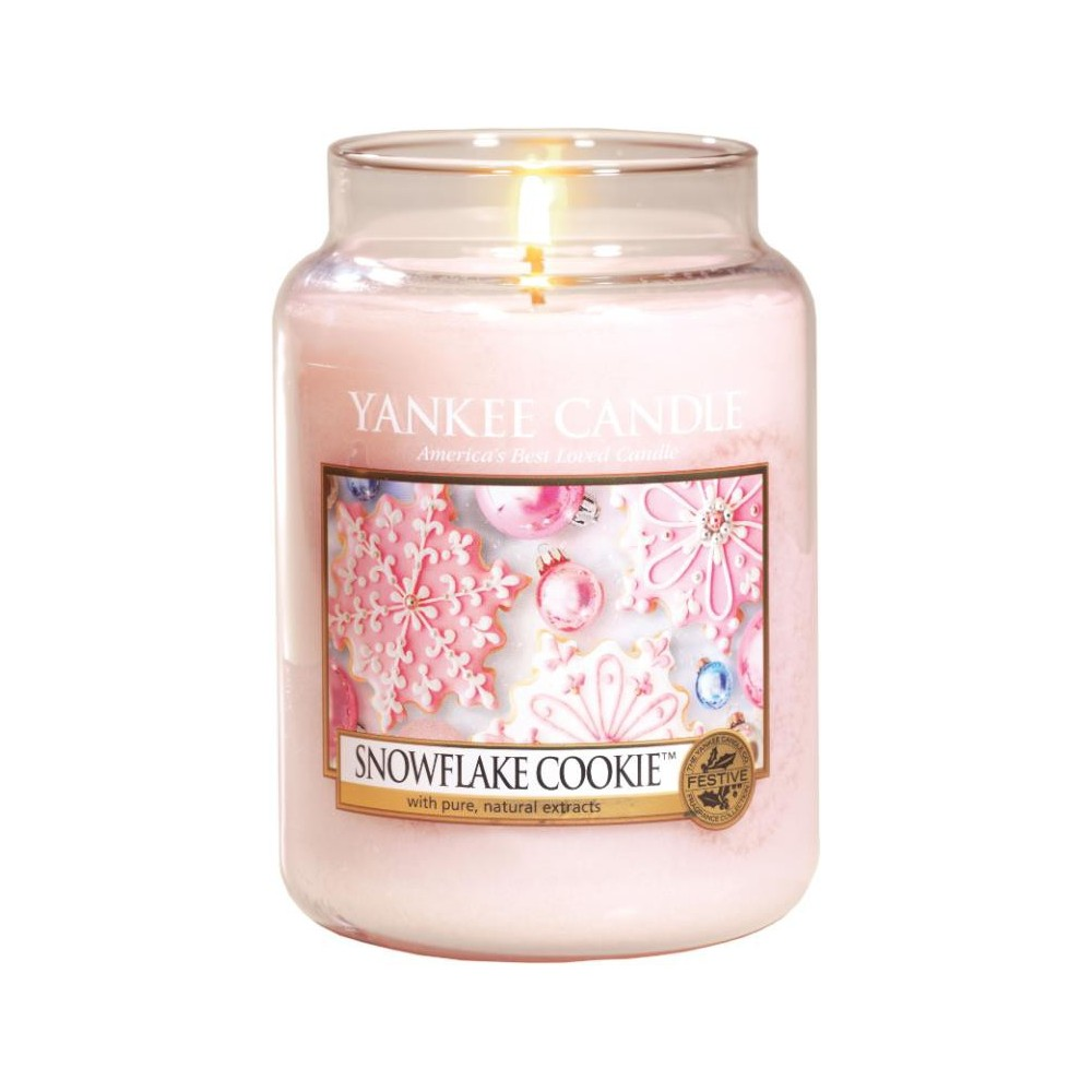 flocons sucres Yankee Candle