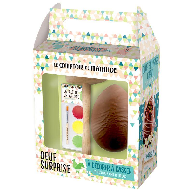 Oeuf surprise à décorer chocolat